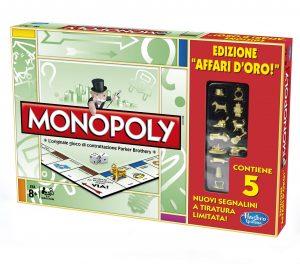 Monopoly Affari d'Oro_edizione limitata con pedine dorate_2012