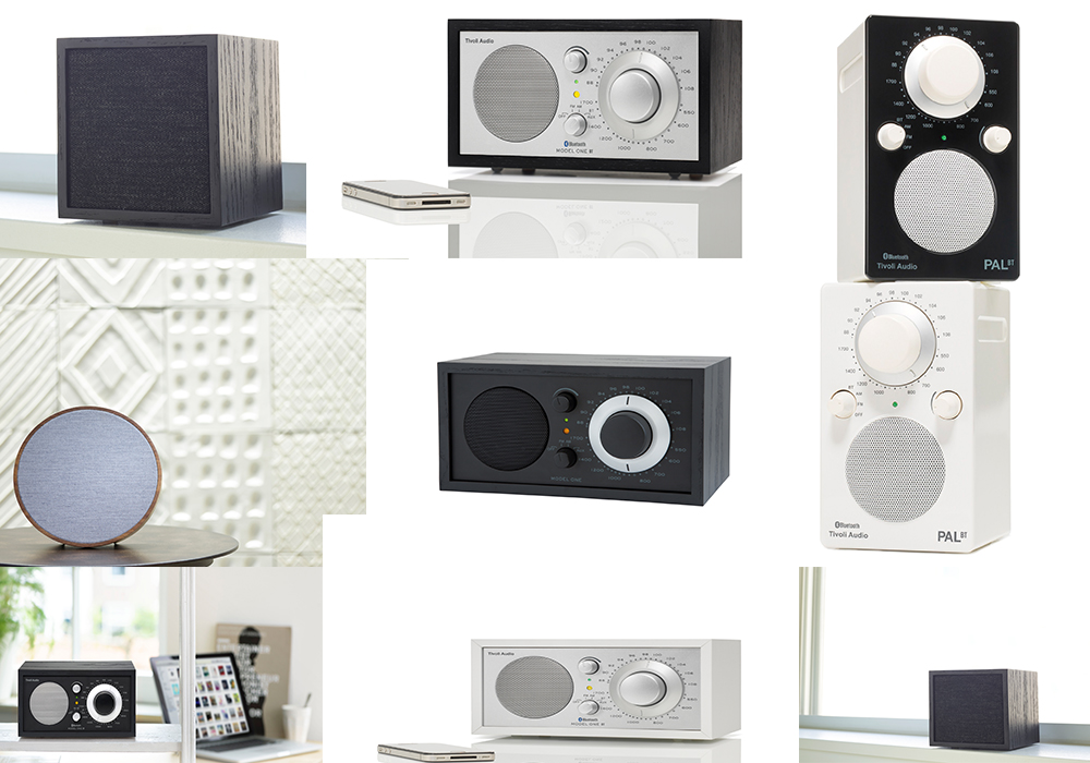 Tivoli audio dal fantastico suono riprodotto Cube Suomolite Model One da tavolo portatile e outdoor e Music System Three altoparlante Pal - tivoli house