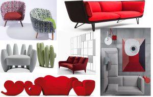 rouge divani