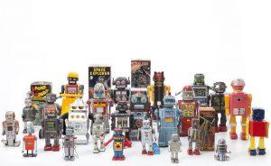 16_Historische Spielzeugroboter