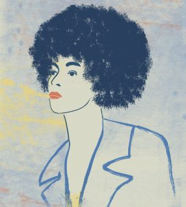 WOMEN-portrait Angela-Davis