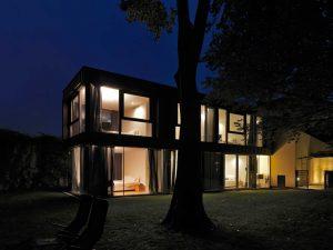 Casa sull'Albero Malgrate notturno 2