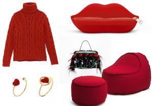 Hot Red : Eden Park - Moschino & Gufram - Nadine S - Giancarlo Petriglia - Hommm design