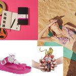 Moleskine storyboard notes / costume Mimi a La Mer / scarpe Birkenstock / anelli Nadine S