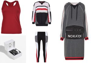 Gym Top Bra Deha / Activity watch Parfois / Gym collection by Nokaoi