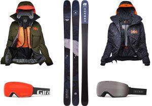 Helly Hansen ski jackets / Armanda tracer Ski / Giro ski mask
