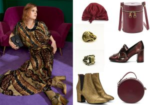 Etro total look and accessories / cap by Marzoline / bags Il Bisonte / ring by Marco De Luca jewels / boots Carmens / shoes Frau