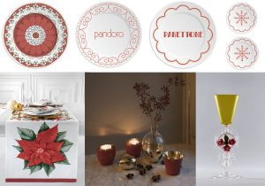 ilaria.i Christmas table Fleur de Noel Vallesusa by Gabel group Table amenities Skultuna Tipetto glass by LaDoubleJ