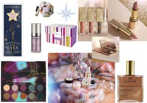 Sephora magic in the eyes Jo Malone Christimas ball and perfume collection Swarovski crystal decoration Maria Galland Paris lift expert serum Byblos beauty perfume and body care box Primark liquid lipstick, eyeshadow e gold palette Zoeva eclectic eyes palette Nuxe guile prodigious