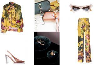 Camicia e Pantaloni F.R.S. For Restless Sleepers / calzature Sebastian by Massimo Bonini / V Bel bags / Gioielli Studio Collect / occhiali Marni
