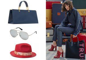 Marni bag / occhiali Swarovski crystal / cappello Alviero Martini 1 classe / look e accessori Trussardi