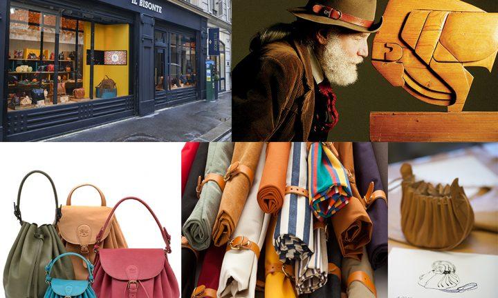 Il primo negozio de 'Il Bisonte' a Palazzo Corsini in via del Parione a Firenze - ritratto di Wanny Di Filippo - immagini di archivio prodotto
