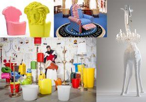 Pop Medusa in collezione da Versace Home / Studio Job presente da Seletti, Qeeboo e al Museo della Scienza e della Tecnica / Marcantonio disegna 'Giraffe in Love' per Qeeboo