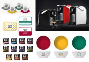 Bialetti collections: la macchinda da caffè 'Break Range', le capsule caffè d'Italia, ciotoline Primavera bowls e il set di tazzine e tovagliette