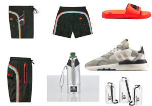 Sundek boardshort in due lungheszze / ciabttine Sundek / sneakers Adidas Nite Jogger distribuite da AW Lab / waterproof cooler by BeCooll di Schonhuber Group