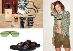 Accessori Il Bisonte / Peninsula Beachwear / occhiali Puma / sandali Berluti