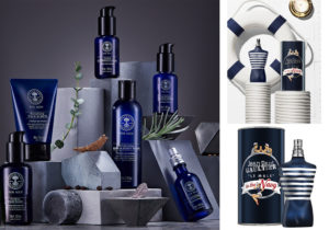 Age Defender set di Neals Yard Remedies / Le Male in The Navy by Jean Paul Gaultier