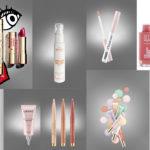 Summer Make - up di Clarins / Latte Solare Microcosmo / Prime Occhi di Pupa / longwear lipstick di Primark beauty /Serum Hydragenist e Body Lift Expert di Lierac / Ombretto Stylo Portofino di Collistar /  SOS Primer di Clarins / Lip volumizer by La Mer