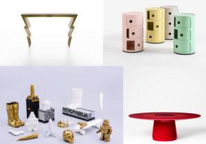 Console Etro Home Interiors / Componibili di Kartell / oggetti Memorabilia by Marcantonio per Seletti / Baleri Round Dining Table