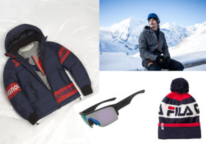 Giaccone Rossignol / Look Helly Hansen weared by Lorenzo Alesi / Dragon eyewear Tracer / Berretto Fila