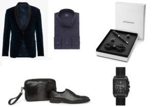 giacca smoking Hugo di Hugo Boss / camica Xacus / Ottaviani elegance set / scarpe A.Testoni / orologio BMW