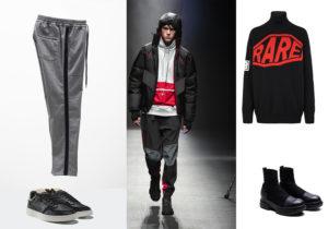 pantaloni PT Torino / sneakers Adidas Originals / look Spyder / pullover Givenchy / stivali Beyond