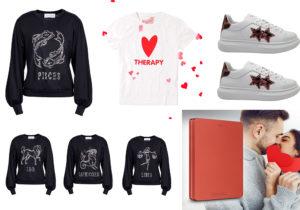Maglia Oroscopo e sneakers Elettra Lamborghini / T-Shirt Love Theraphy Fiorucci / hard disk 'Canvio Alu' di Toshiba Electronics