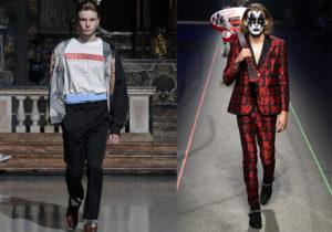 Giubbotto bomber, T-shirt 'Red Carpet', boxer e pantaloni di M1992 / Abito 'Kiss' di Philipp Plein