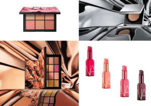 make up 'AfterGlow' di Nars: palette ombretti e fard, correttore e cipria, rossetti a lunga tenuta