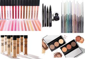 Smashbox make-up con le infinite varianti di lipgloss, i kit per correggere definire e colorare lo sguardo, i fondotinta e i fard che meglio si abbinano alla propria carnagione