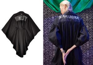 Kimono 'Humility e abito 'I am Unique' di Pinko