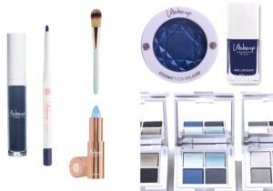 Wakeup Cosmetics Milano : long lasting eyeliner Poseidon , ombretto vellutato Eyeshadow Addigi , Nail Laquer Azul pennello rossetto