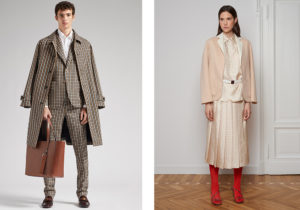 ladies and gentleman featured by Tod's and Mila Schon