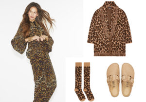 Look di F.R.S. For Restless Sleepers - giacca e calzettoni Alanui - scarpe Birkenstock Donna