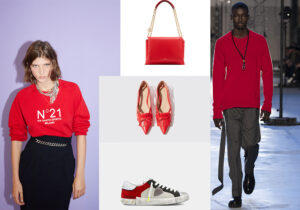 Looks N.21 / Lanvin Sugar Bag / Spicy Ball ballerina by Paula Cademartori x Scarosso / sneakers Philip Model Uomo /