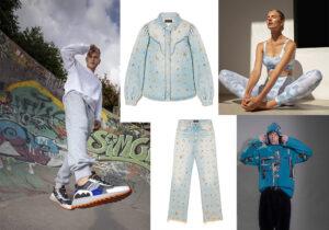 Total look e sneakers Moaconcept Master of Arts modello 'Futura' - gubbino e pantaloni Alanui - top bra e leggings Onne - total look Froy