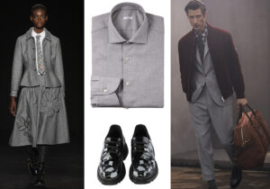 Total look Vivetta - camicia Caliban - scarpe 'I am Beyond' di I am Isola Marras e Beyond - look Brunello Cucinelli