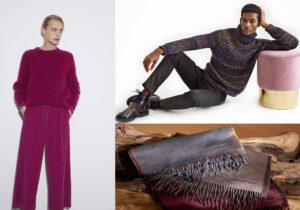 Look Pomandere - total look Cividini Uomo - sciarpe Ermenegildo Zegna Holidays collection