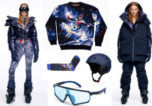 Total look Moncler Grenoble / calze e maglione InTheBox / occhiali Adidas Sport by Marcolin / casco Heritage di CMP