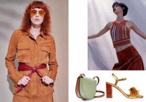 Look Tods / look Ferragamo / borsa Loewe / sandali Chie Mihara