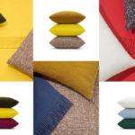 kvadrat raf simons pillows textures