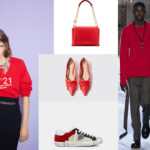 Looks N.21 / Lanvin Sugar Bag / Spicy Ball ballerina by Paula Cademartori x Scarosso / sneakers Philip Model Uomo /