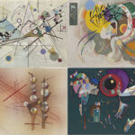 kandinski mostra bilbao Composizione Curva Dominante Impassibile Intorno al Cerchio